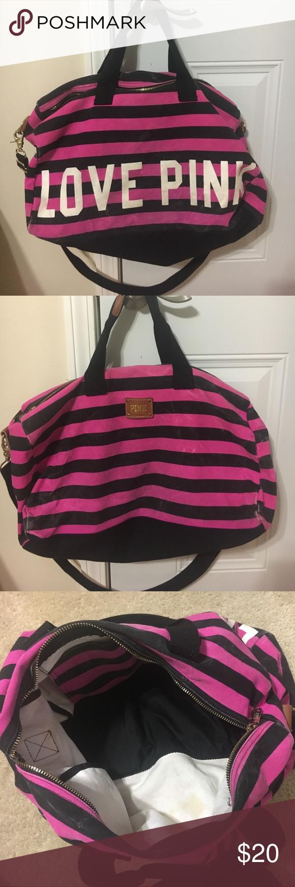 Victoria Secret Love Pink Duffle Bag   ReGreen Springfield 80f0a77d71