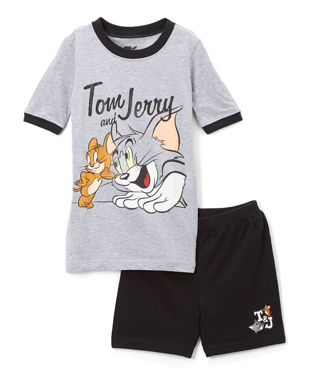 Tom and Jerry Tom /& Jerry Boys Pajamas