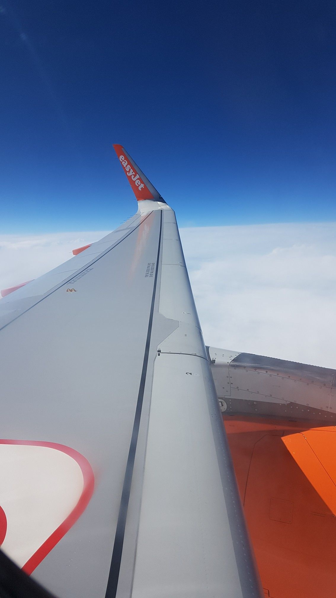 Easyjet A320 Wing And Sharklet Planes Pinterest Airplane View