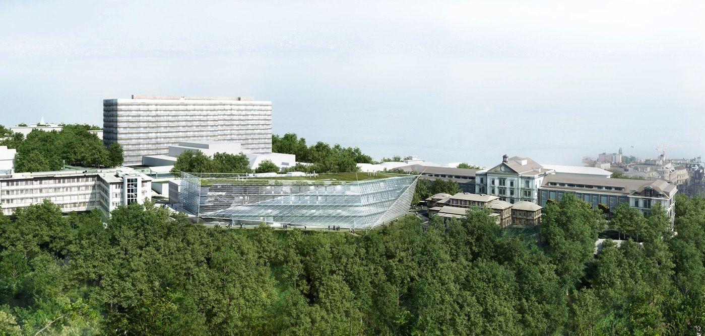 Behnisch Architekten Breaks Ground on Cancer Research Center in Switzerland,Courtesy of Behnisch Architekten