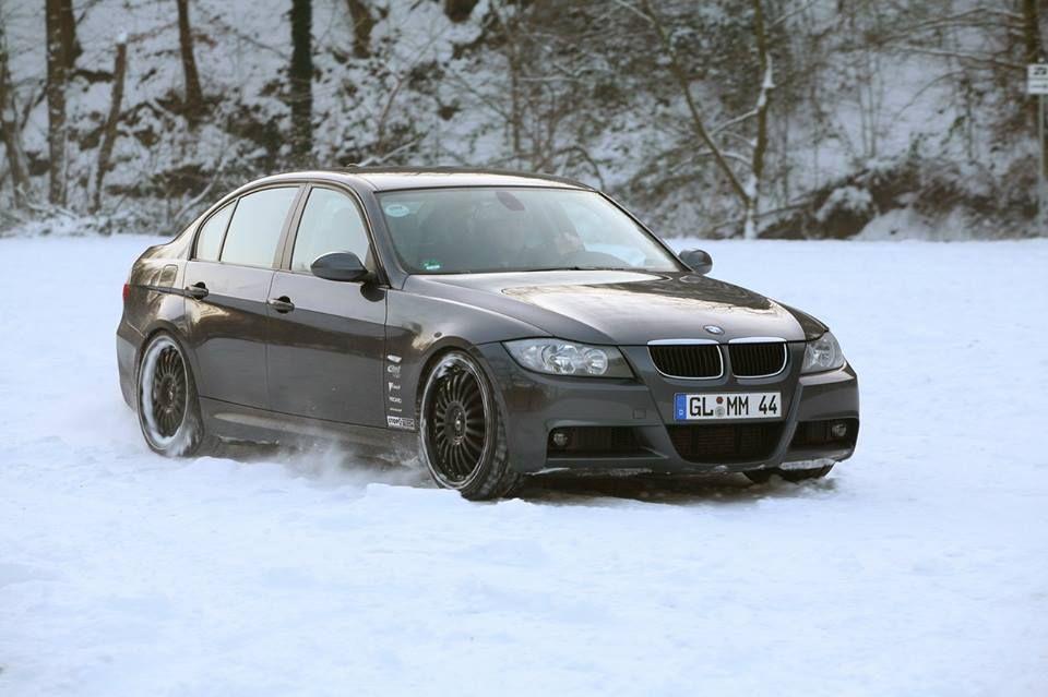 Bmw E90 3 Series Grey Snow Bmw Bmw 320d Bmw Love