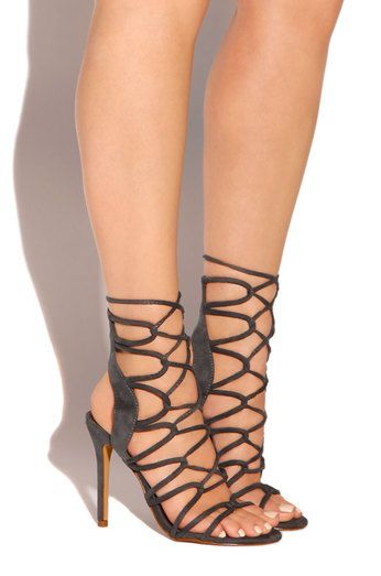 4d2a7336c1 Obsession - Charcoal - Lola Shoetique | Shoes | Shoes, Footwear, Heels