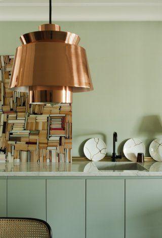 Une cuisine moderne qui mélange vintage et minimalisme Cuisine vintage