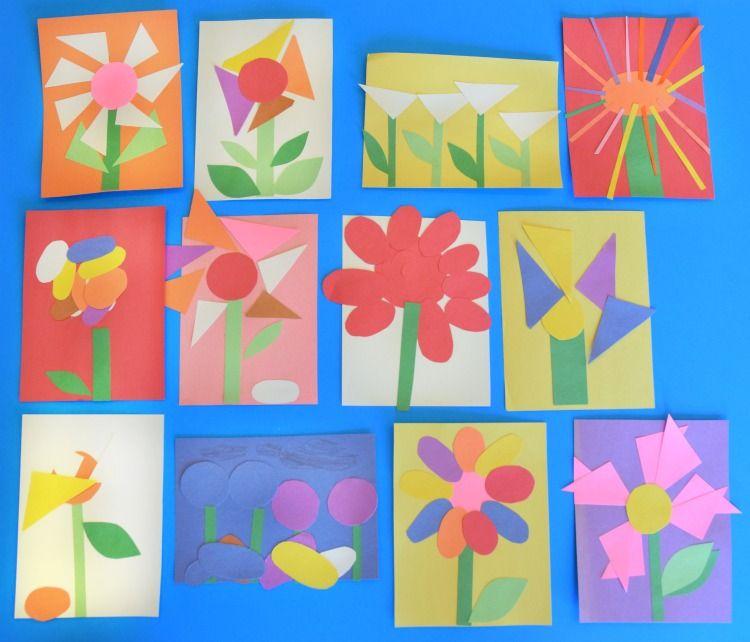 Invitation to create flower garden flower crafts