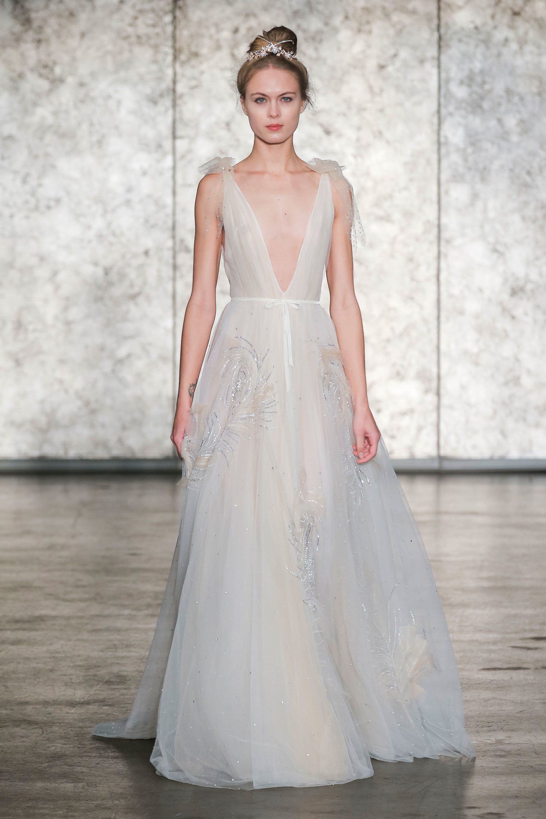 Inbal dror bridal fall fashion show collection wedding style