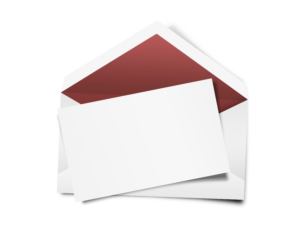 formal business invitation card sample%0A Envelope with blank note  blank invitation or greeting card template