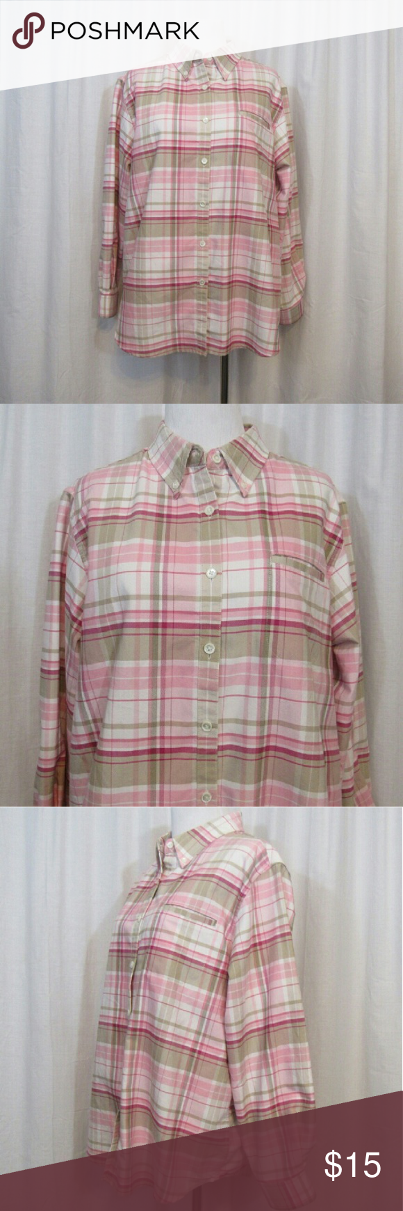 Brand: Cabin Creek Size: Material: Cotton Polyester Care Instructions:  Machine Wash Bust: Sleeves: Shoulders: Length: All Clothes Are In Excellent  Used ...