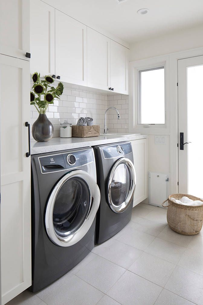Best Laundry Room Ideas For Your Compact Home In 2020 White