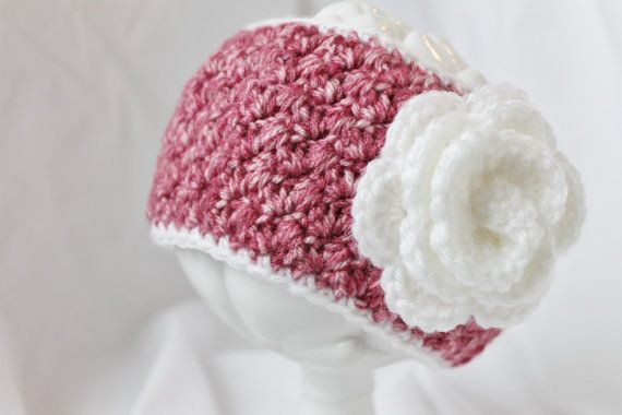 Crochet Headband for Adults and Teens with by LoopsAndBlossoms, $18.00