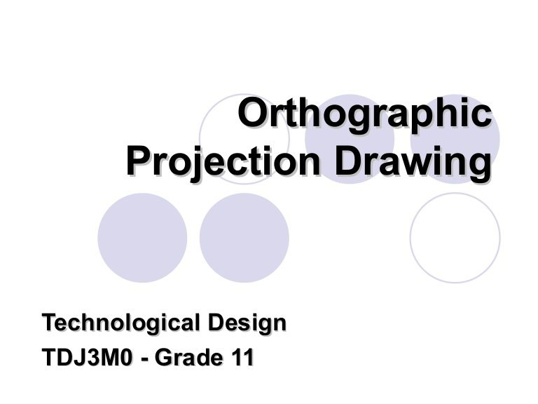 orthographic drawing - what is it - the views, alphabet of