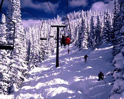 Steamboat Springs, Colorado. My all-time favorite place to ski and natural hot springs are awesome too!