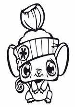 Littlest pet shop coloriage dessins pour enfants, imprimer, en ligne   Coloriage petshop ...