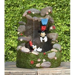 Disney 27in Mickey & Minnie Diving Fountain | Disney Home