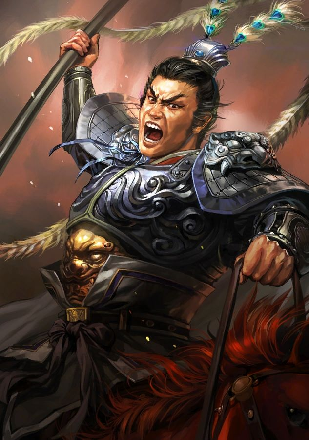 Romance of the Three Kingdoms 13 XIII Portrait,呂布 lu bu