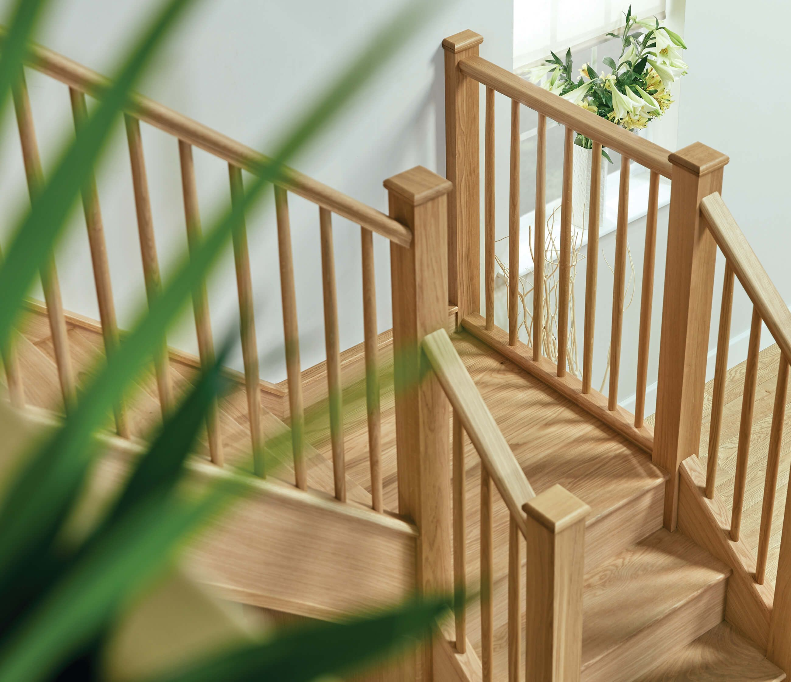 Oak Spindles, Renovation, Stairs
