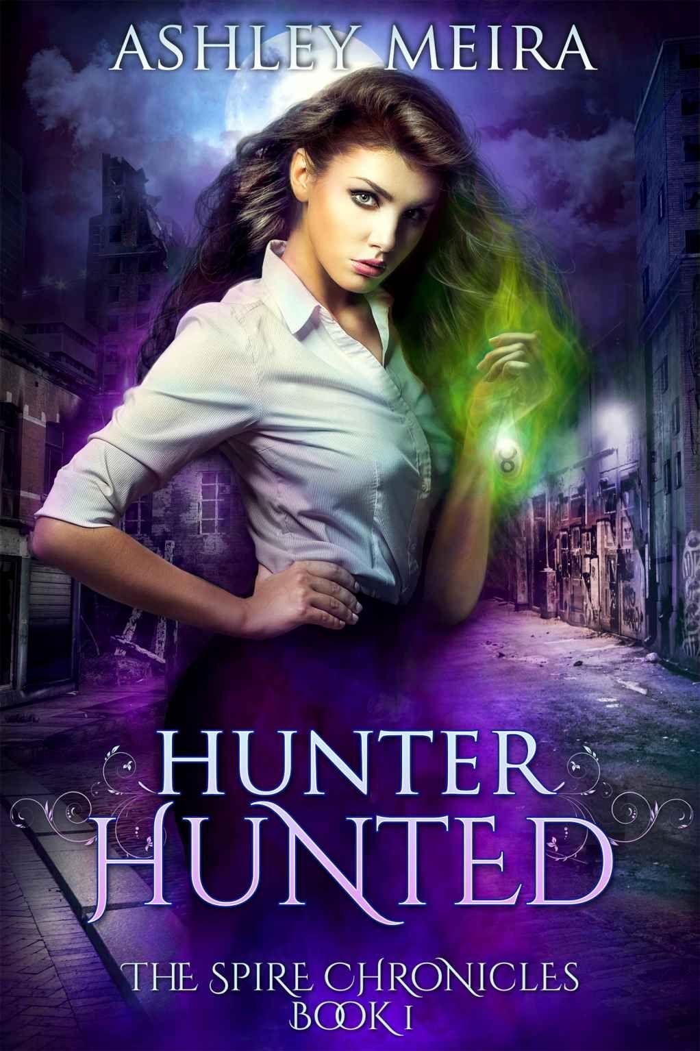 Hunter hunted a new adult fantasy novel the spire