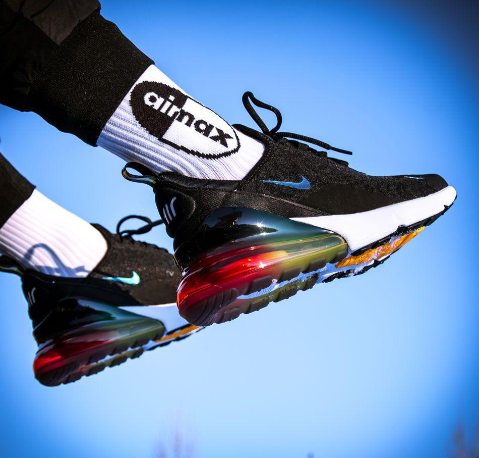 Schwarzer Nike Air Max 270 Special Edition