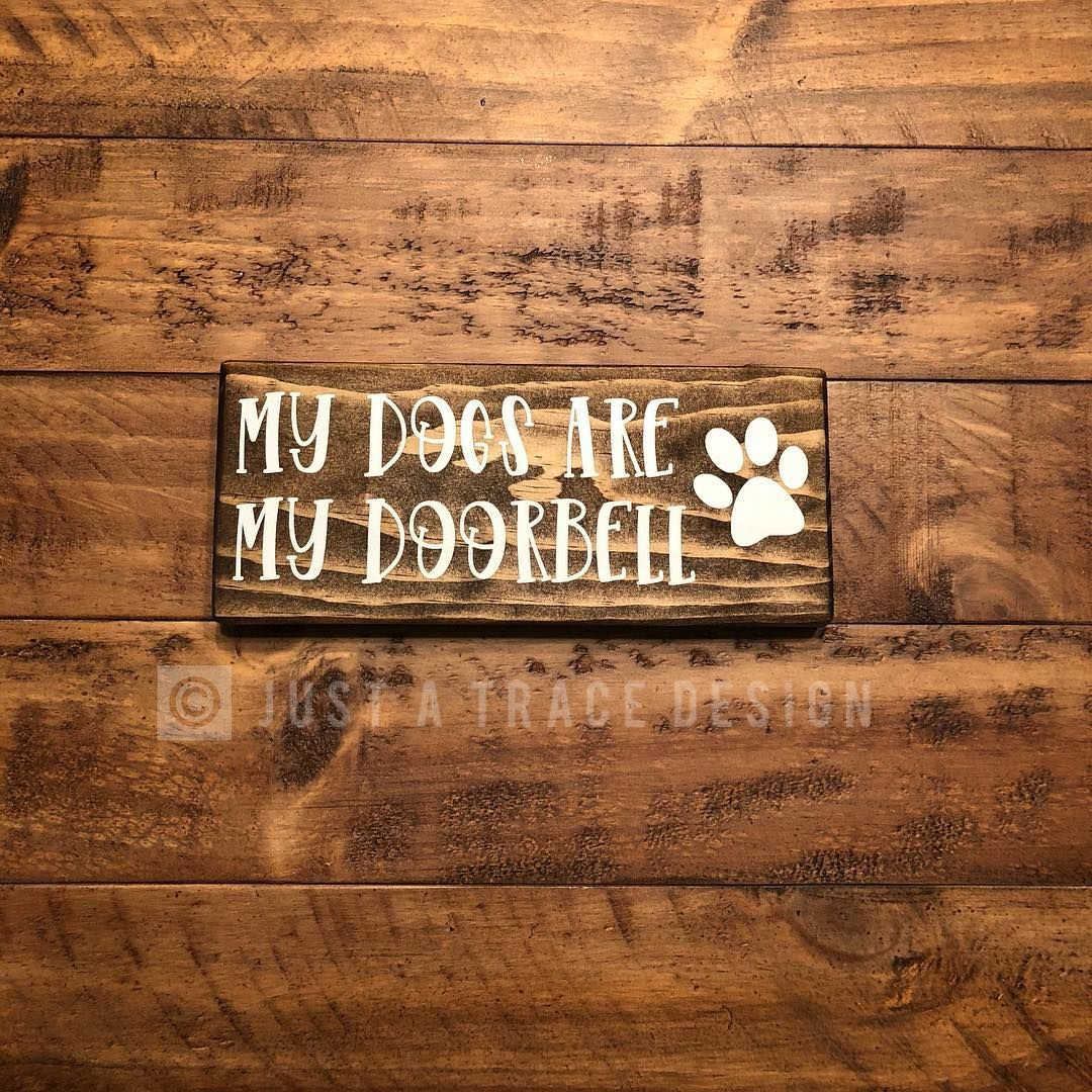 We have a couple doorbells at our house! Not going to