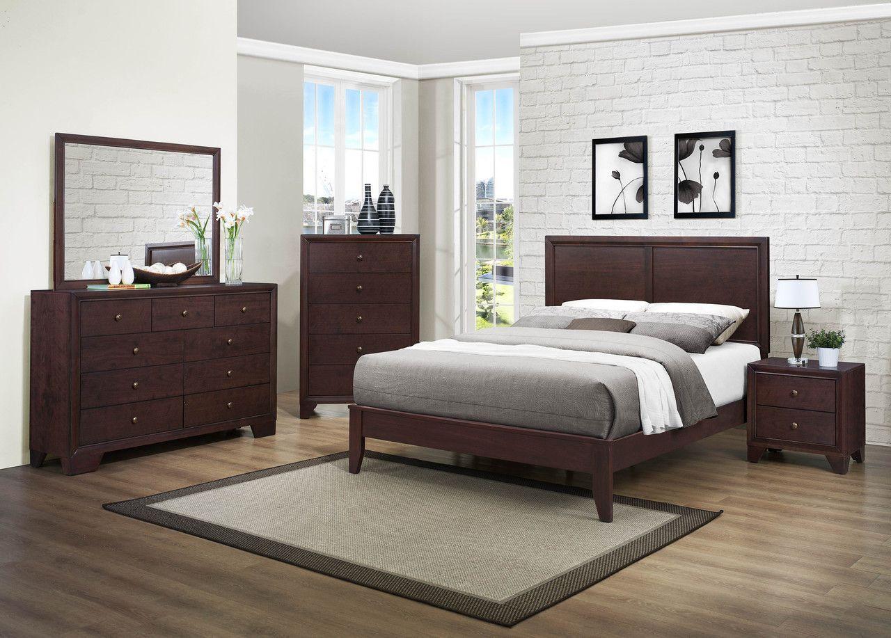 Kari 4Pc California King Bedroom Set 2146  King Bedroom Pleasing Cal King Bedroom Sets Decorating Inspiration