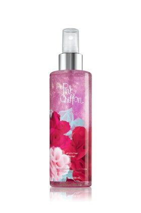 Bath And Body Works Pink Chiffon Shimmer Mist 8 Oz Http