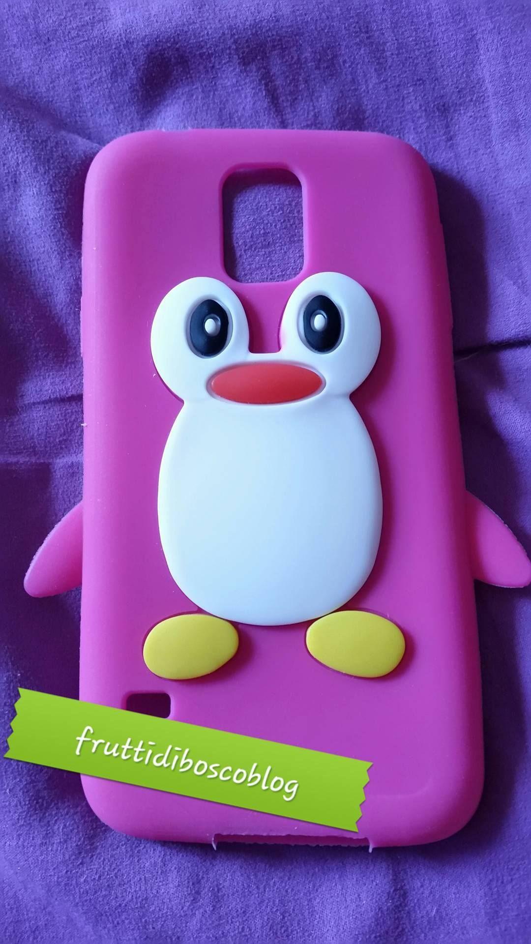 Recensione acquisto cover a pinguino su Amazon per samsung s5
