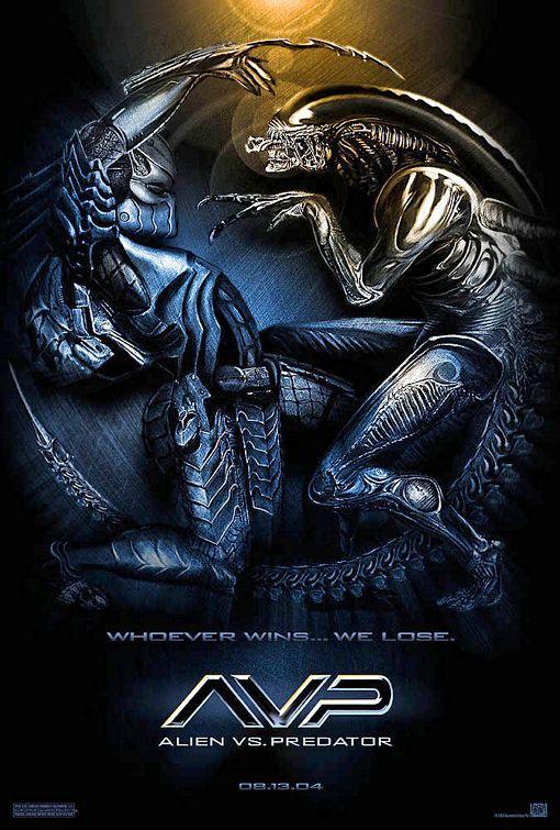 Alien Vs Predator 2004 With Images Predator Movie Predator Movie Poster Alien Vs Predator