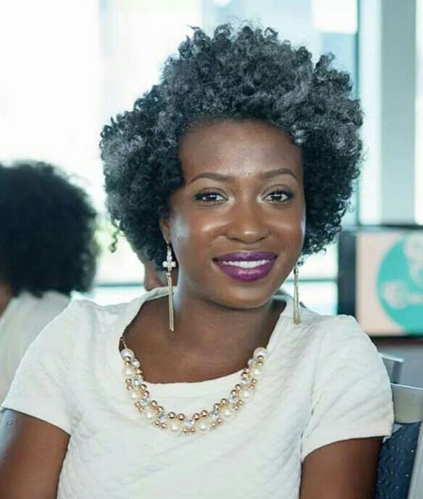 24 Most Suitable Short Hairstyles For Older Black Women Page 21 Hairstyles For Women Hairstyles For Seniors Natural Hair Styles Short Natural Hair Styles