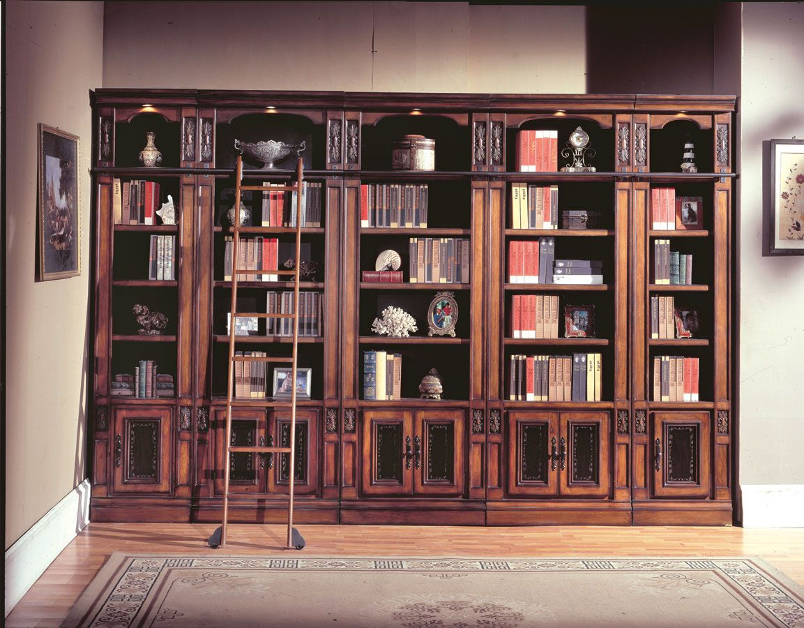 Parker House Davinci Library Bookcases Hausbibliothek Bucherregal Wand Design Fur Zuhause