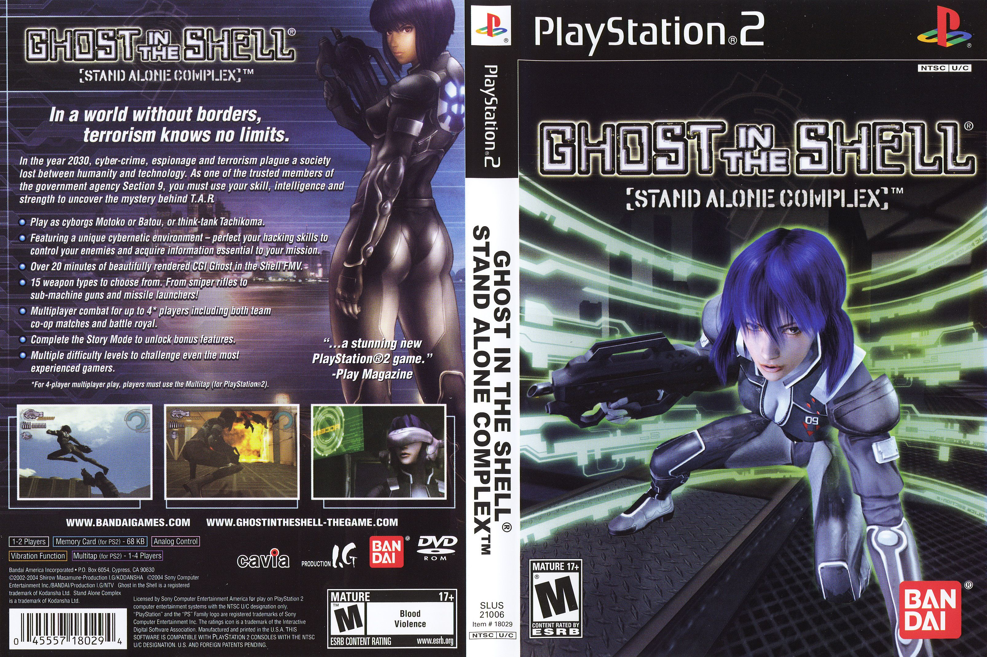 Ghost In The Shell Stand Alone Complex Ghost In The Shell Play S Ghost
