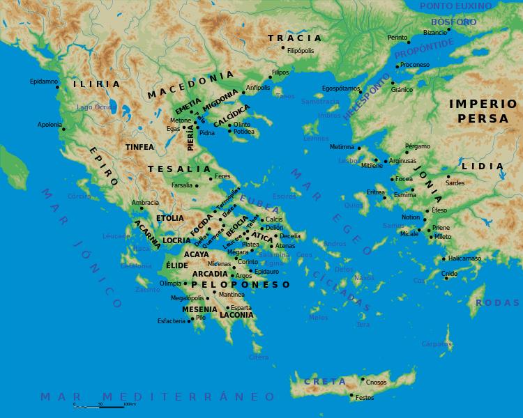 Mapa De Antigua Grecia.File Mapa Grecia Antigua Svg Grecia Antigua Grecia Clasica Arte De La Antigua Grecia