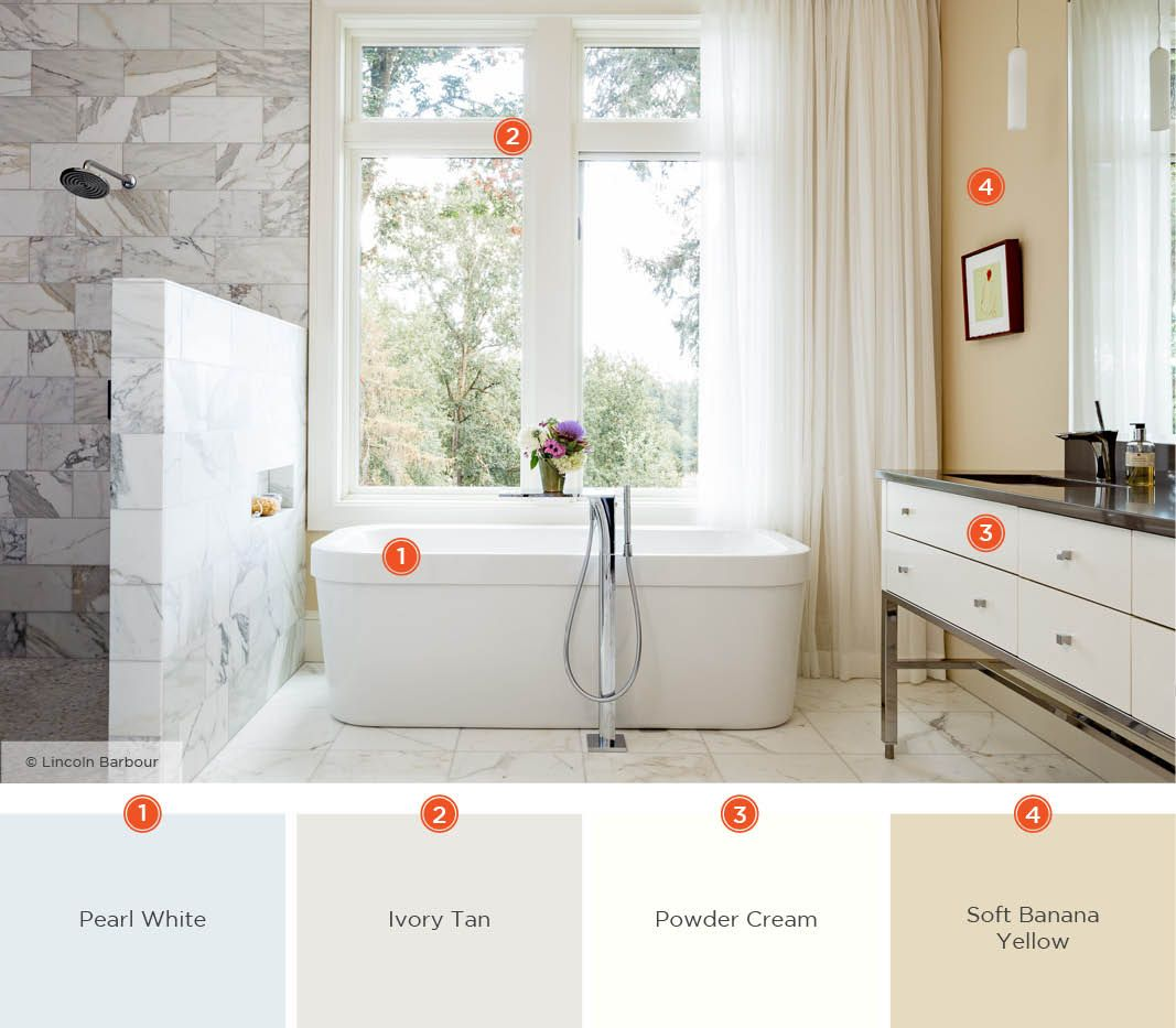 20 Relaxing Bathroom Color Schemes Shutterfly In 2020 Bathroom Color Schemes Bathroom Color Bathroom Colors