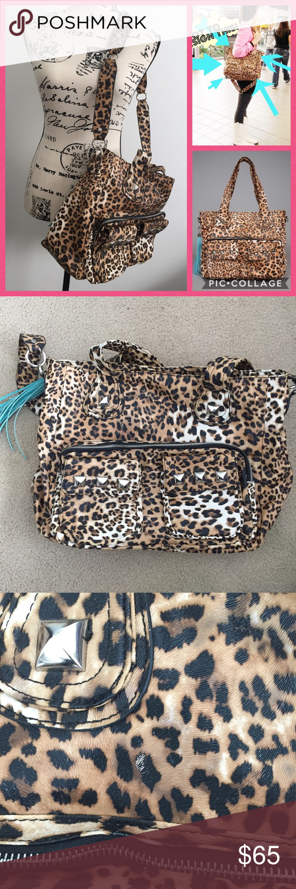 Kandee Johnson Imoshion Limited Ed Leopard Bag The Beauty Guru Designed Herself This Is A 2017 1st Generation Before They