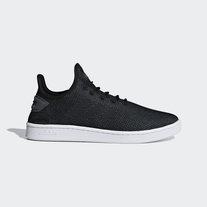 Court Adapt Shoes Black Mens | Adidas men, Running shoes for ...