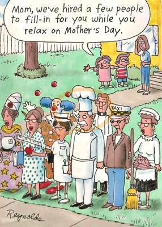 Pin By Michelle Kaping Johnson On Funny Quotes Happy Mother S Day Funny Happy Mother Day Quotes Mothers Day Cartoon