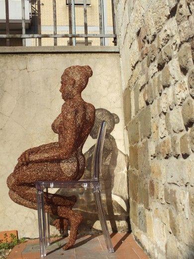 Foto Lo zen e l'arte dei fili di rame le sculture di Giuseppe Guanci - 8 di 13 - Firenze - Repubblica.it