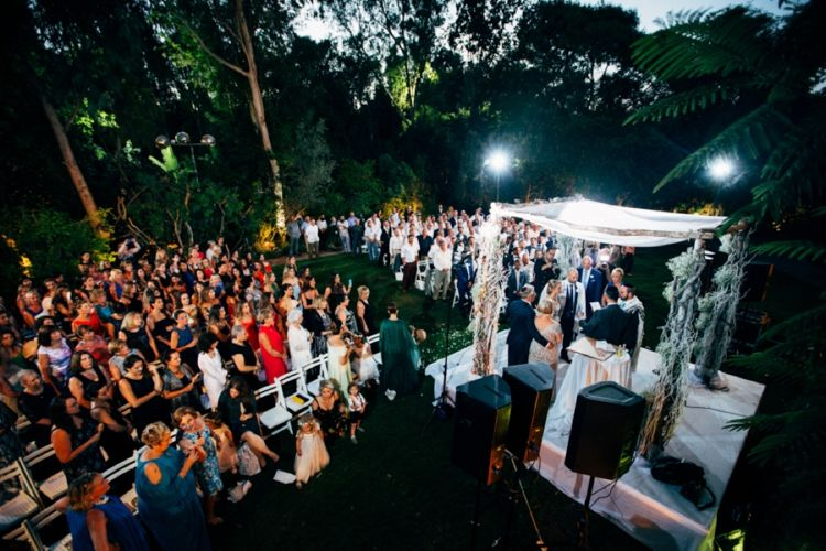 An enchanted woodland-themed  destination Jewish wedding in Israel | Smashing the Glass | chuppah