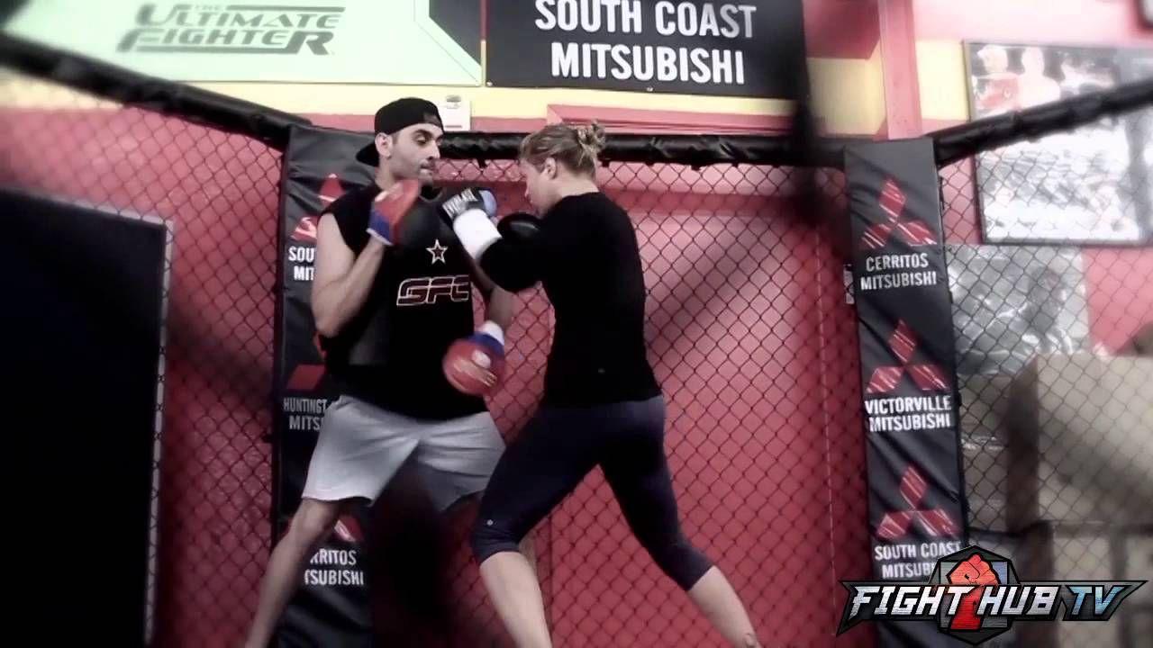 Ronda Rousey Vs Alexis Davis Ufc 175 Rousey Training Camp Footage Ronda Rousey Ufc Training Camp