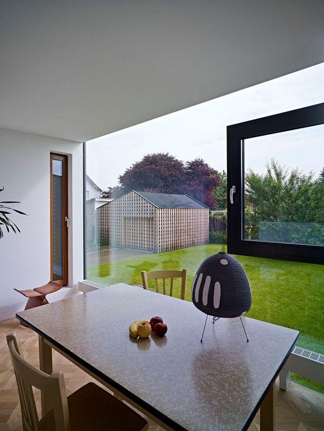 30 maisons modernes avec des grandes baies vitrées