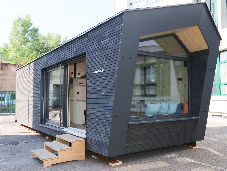 Ein Berliner Architekt will Tiny Houses auf ungenutzte
