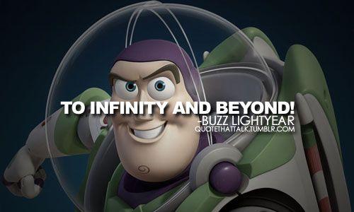 QuoteSpire Inspirational Quotes Disney Quotes Disney Movie Fascinating Buzz Lightyear Quotes