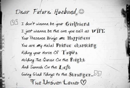 Pin by Dinar Sari on For my Future Husband Pinterest Future - love letter to husband