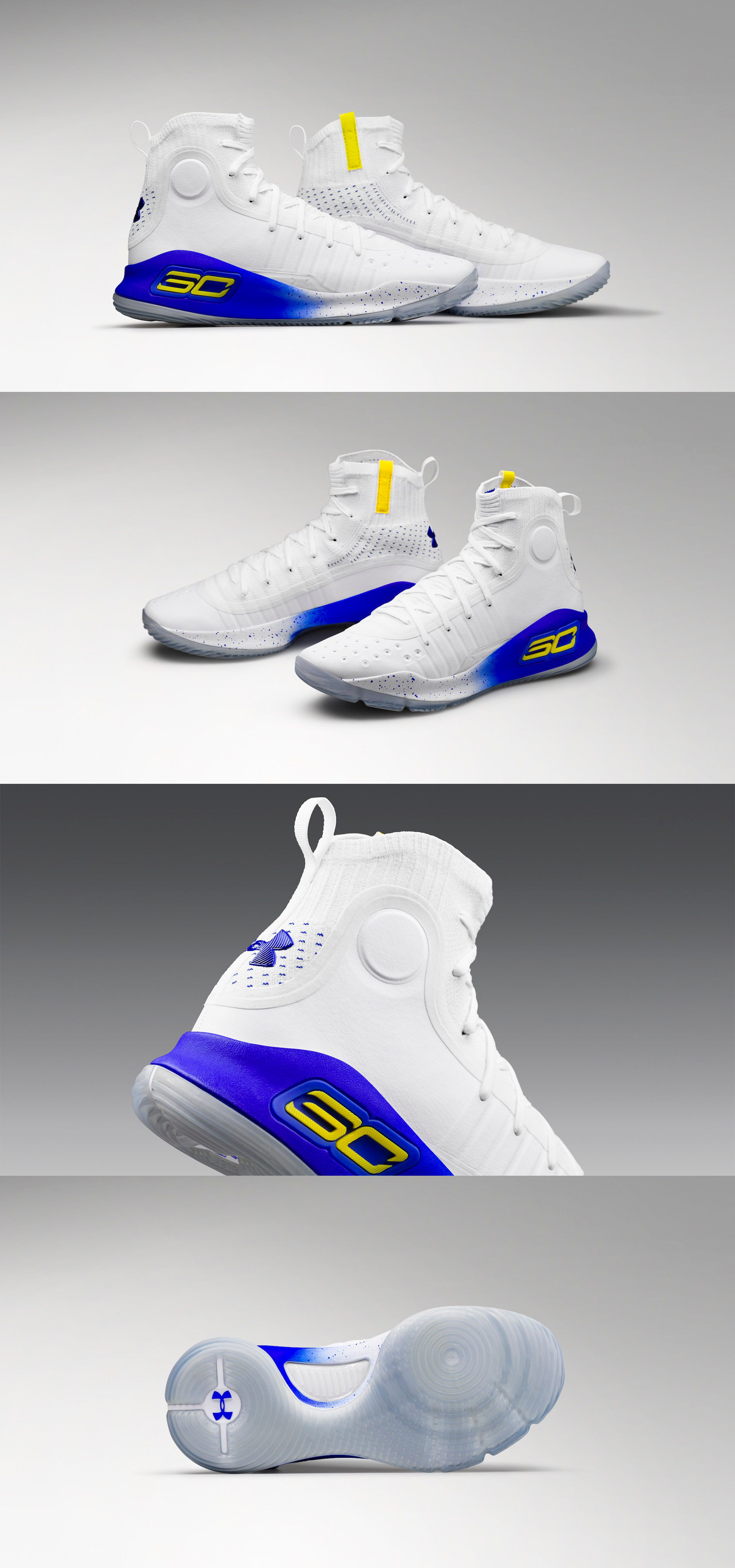 """Under Armour Curry 4 """"More Dubs"""