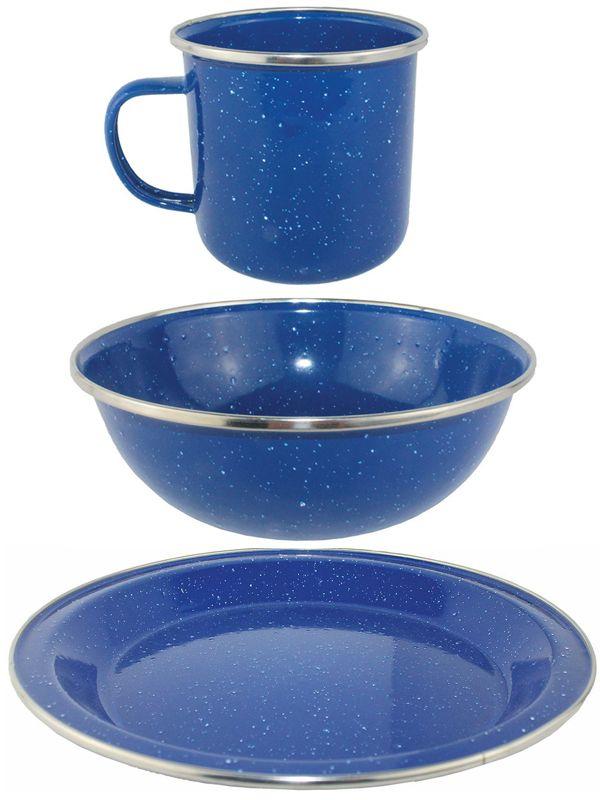 Yellowstone Blue Enamel C&ing Products Choose From Mug Bowl Plate Picnic Sets  sc 1 st  Pinterest & Yellowstone Blue Enamel Camping Products Choose From Mug Bowl Plate ...