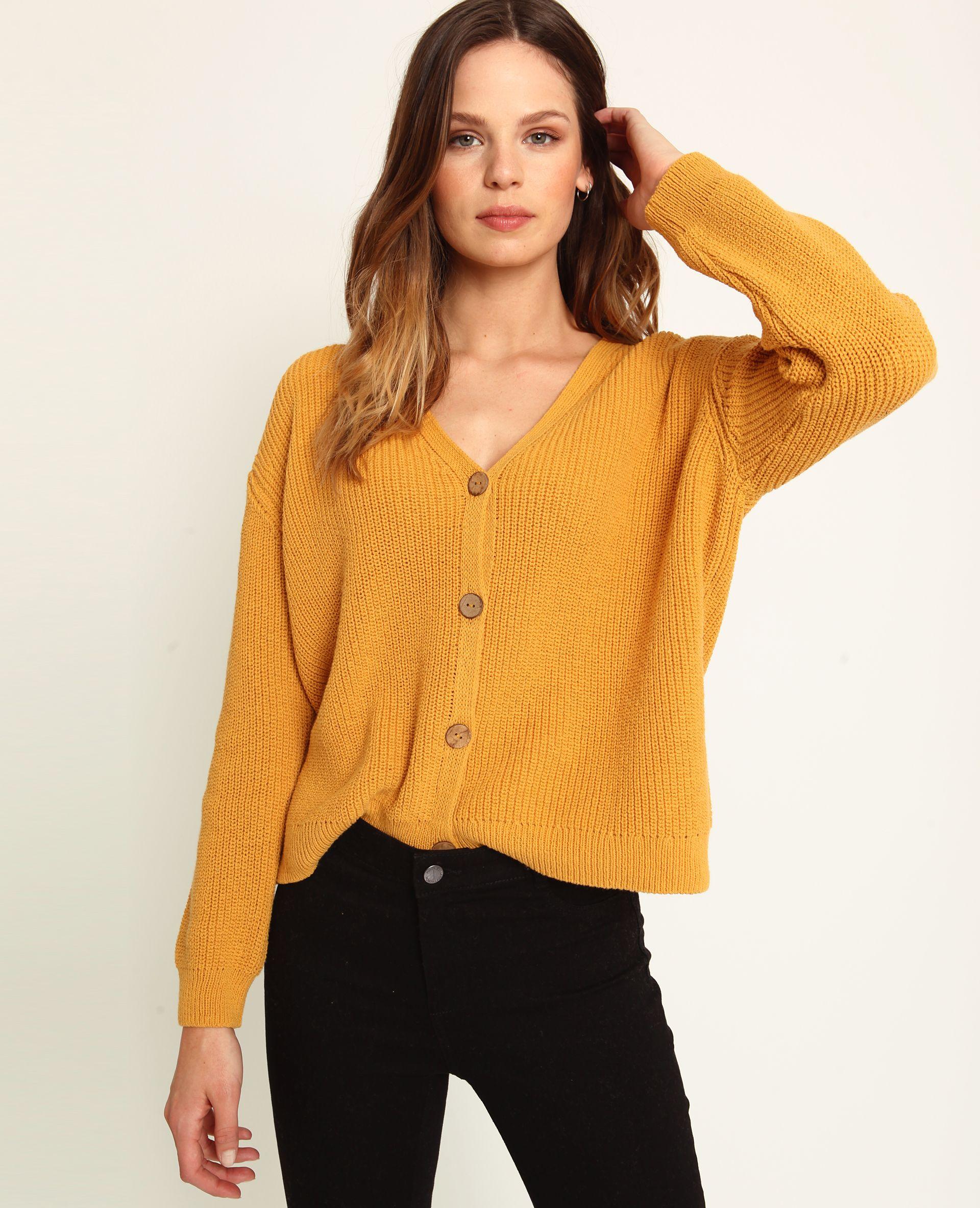 good out x super cute 100% quality Gilet à col V jaune - 407369026A00 | Pimkie | Vêtements ...