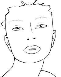 ef face charts blank  google search  desenho
