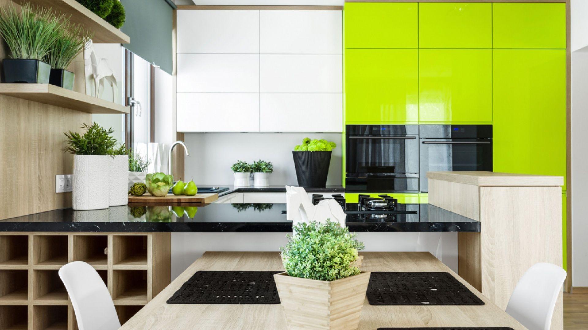 Aranzacje Wnetrz Kuchnia Projekt Wnetrz Katowice Beforeconcept Przegladaj Dod Kitchen Remodel Small Kitchen Interior Design Modern Black Kitchen Decor