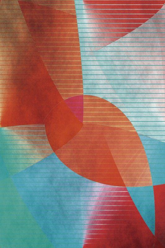 Christine Bässler: Abstrakt bunt Leinwandbilder