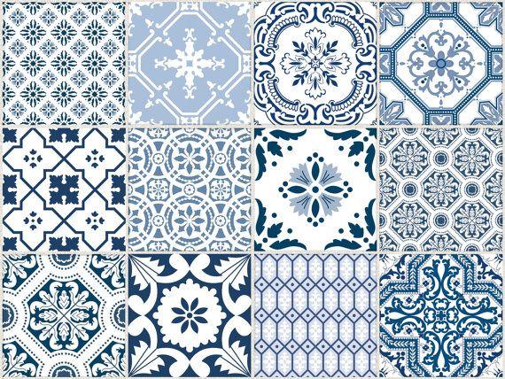 Kitchen Bathroom Tile Decals Vinyl Sticker : Portugal