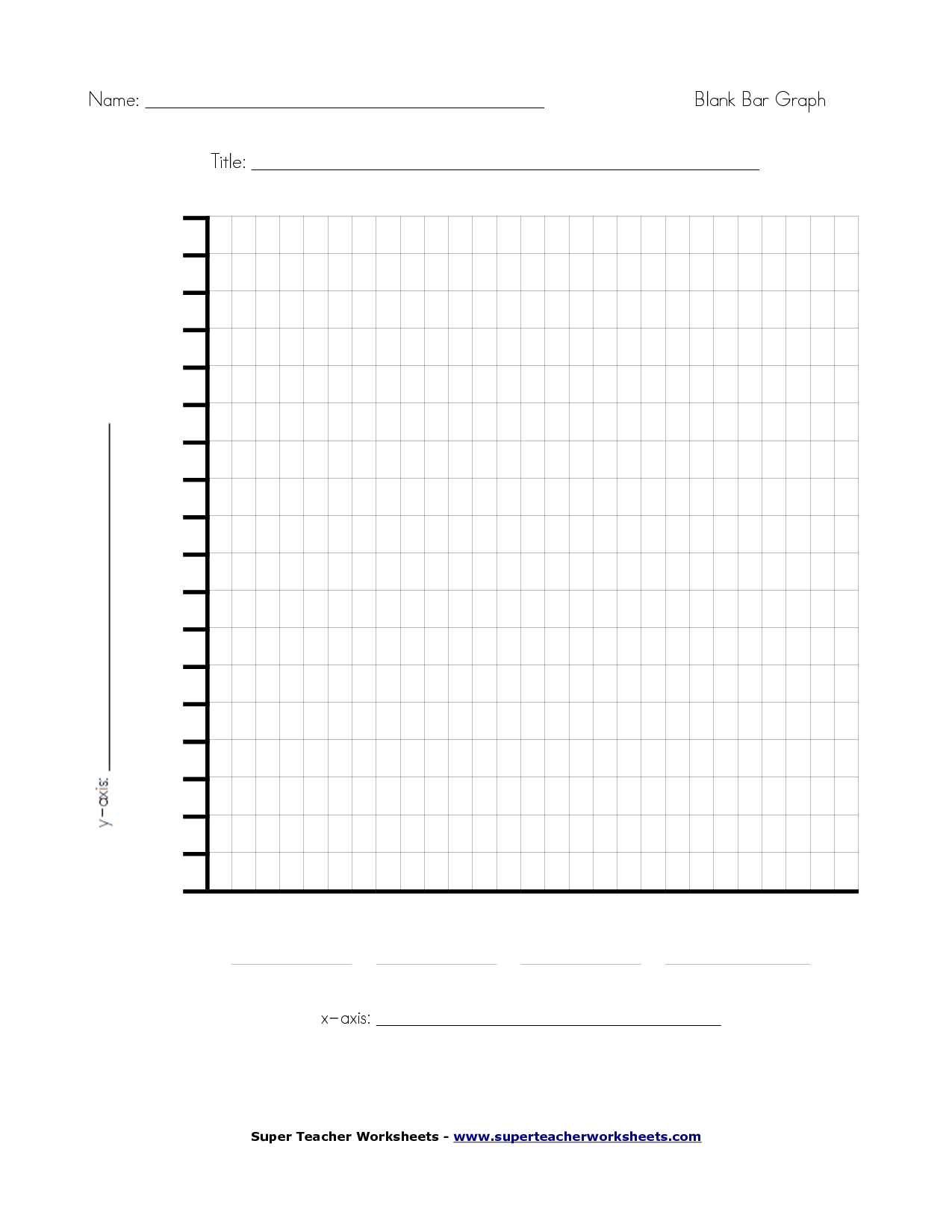 View source image – Blank Bar Graph Templates
