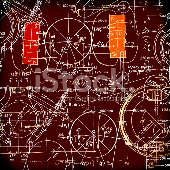 Mathematical Background royalty-free stock illustration